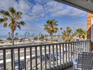 East Oceanfront Balboa Condo in the Heart of the Balboa Village, Steps to the Sand, Stunning Views - Balboa vacation rentals