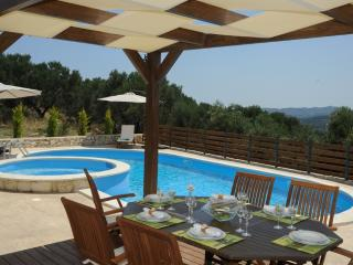 Luxury Villa with Private Pool and Sea View - Chania Prefecture vacation rentals