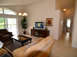 4 Bed 3 Bath Watersong Pool Home With Pond View. 927OCB - Orlando vacation rentals