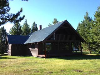 Shoshone Cabin is located on the Island Park Village golf course. - Island Park vacation rentals