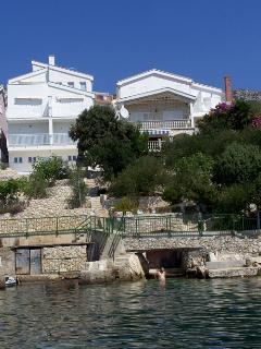 Villa Mediterraneo terrace with stunning sea view - Komarna vacation rentals