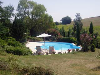 Secluded Gascony farmhouse with pool - Eauze vacation rentals