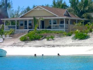 Beach House with wraparound porch and kayaks!!! - Great Exuma vacation rentals