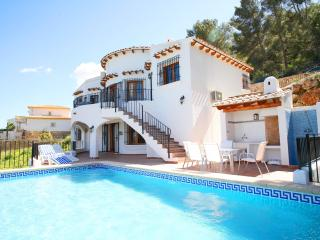 Seaview, A/C, free WiFi, heated pool, playground - Denia vacation rentals