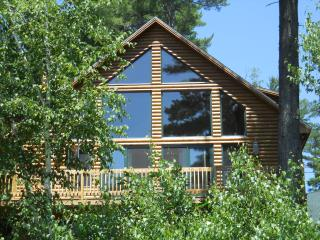 """The Hive"" Luxury Mountain Log Home Shawnee Peak - Western Maine vacation rentals"