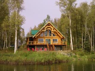 Beautiful Lakeside Log Cabin - Willow vacation rentals
