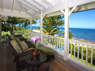 Luxury Beachfront Kauai Vacation Home!!! - Hanalei vacation rentals