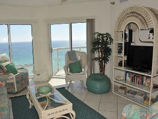$150/nt open dates! 9th flr Gulf-front 2br at Emerald Isle! - Pensacola Beach vacation rentals