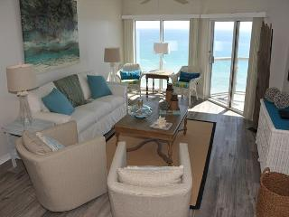 Gulf-front 9th floor Emerald Isle - beautifully-decorated! - Pensacola Beach vacation rentals