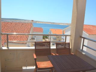 Lovely Seaview Apartment (35) sleeps 4+1 - Novalja vacation rentals