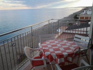 9th floor, ocean-front, fantastic views, 4-8 pers - Calafell vacation rentals