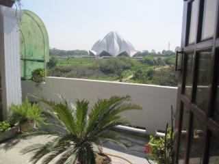 unique independent south delhi lotus temple view - New Delhi vacation rentals