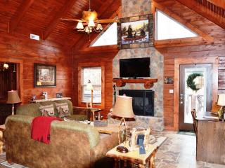 AMAZING 4 BD 4 BTH CABINS,HOT TUB,GRILL,FIREPLACE - Table Rock Lake vacation rentals