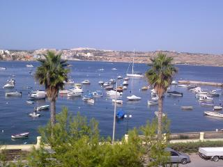 GORGEOUS VIEW & SUNSETS: PRIME LOCATION: SLEEPS 5+ - Mosta vacation rentals