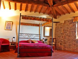 "Farmhouse apartment ""Canopies"" w/pool & garden - Loro Ciuffenna vacation rentals"