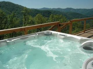 Wengen Chalet - Spectacular Views, Outdoor Hot Tub, Firepit and Screened Porch - Bryson City vacation rentals