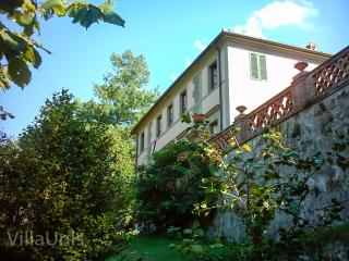 Villa Unis - Noble Summer Residence with gardens, pool and amazing views - Nocchi vacation rentals