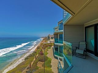 Solana Seascape - oceanfront condo with sweeping ocean views, pool, & tennis - Solana Beach vacation rentals