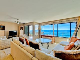 Oceanfront condo with whitewater views, pool, spa, and tennis - Solana Beach vacation rentals