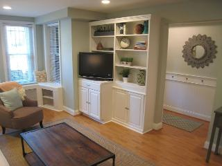 Chic 2BR 1BA 2 level historic brownstone on tree-lined street - Washington DC vacation rentals