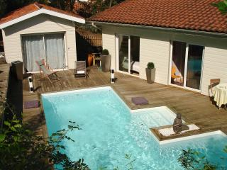 Cap Ferret villa with heated pool and sea view - Cap-Ferret vacation rentals