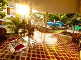 70s retro style bungalow in Melaque, Mexico - Melaque vacation rentals