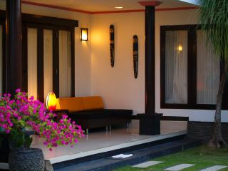 Family beachfront two bedroom villa - Gianyar vacation rentals