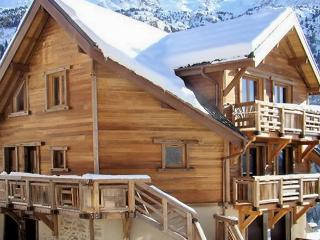 L'Étendard – gorgeous chalet-style apartment in Vaujany for 8 people - Isere vacation rentals