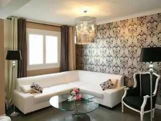 Modern luxury apartment with south-facing terrace, 300 meters from the beach - Juan-les-Pins vacation rentals