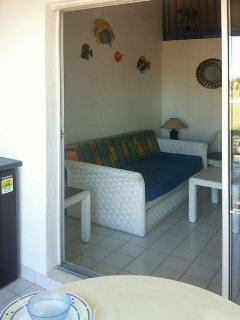 Charming apartment by the sea in Saint François, Guadeloupe, with 2 bedrooms, balcony and garden vie - Saint-François vacation rentals
