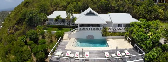 SPECIAL OFFER: St. Barths Villa 79 A Very Private Villa Located On The Hillside Of Vitet With A Clear View Of The Islands In The Distance. - Vitet vacation rentals