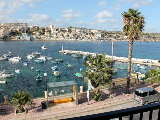 Harbour Lights seafront apt A in St Paul's Bay - Saint Paul's Bay vacation rentals