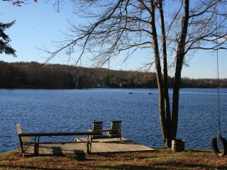 Cozy LAKEFRONT SKI Charmer w/Pool Table - Pocono Lake vacation rentals