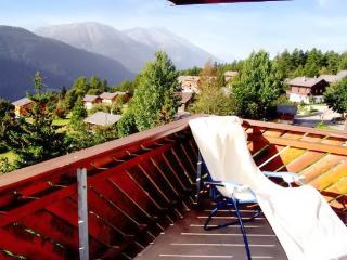 Apartment in Bellwald with balcony and view of the Swiss alps - Bellwald vacation rentals