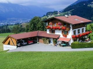 Tyrolean-style apartment with 2 beautiful bedrooms and balcony with mountain views - Fugen vacation rentals
