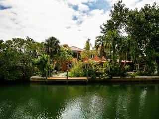 Designer Villa on canal by secluded beach - Longboat Key vacation rentals