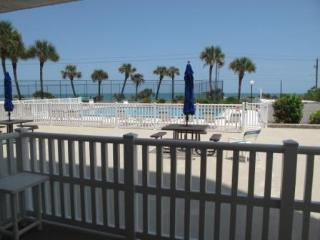 3 Bedroom - Oceanview and steps to the pool. - Flagler Beach vacation rentals
