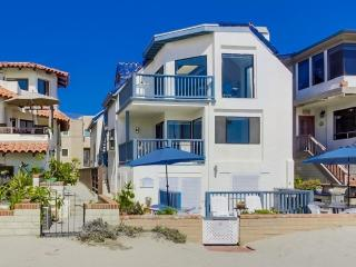 South Mission Beach Ocean Front Luxury Home - Pacific Beach vacation rentals