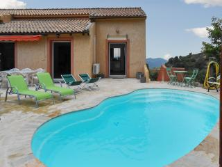 Bright apartment in Barbaggio, Haute-Corse, with swmming pool and stunning view - Corsica vacation rentals
