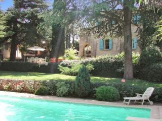 Gorgeous villa in Provence with pool and Wi-Fi, set in a lush garden, up to 8 persons in 4 bedrooms - Saint-Maximin-la-Sainte-Baume vacation rentals
