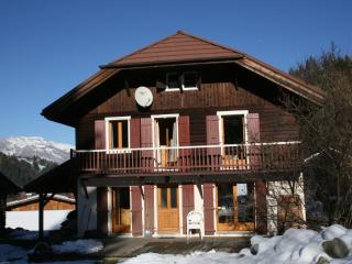 CHALET, COMFORT, CHARM AND LIGHT, OVERLOOKING MONT - Les Contamines-Montjoie vacation rentals