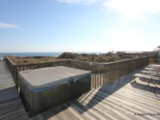 New to Renting! Beach Front, Hot Tub, Screen Porch - Topsail Island vacation rentals