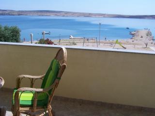 Breathtaking view ap. Vida 3 for 5 people - Novalja vacation rentals