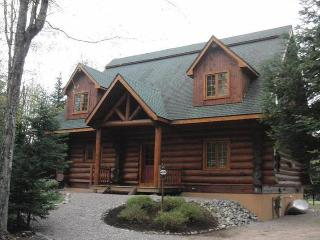 Moon Over Moose Luxury Waterfront Log Home - Lowville vacation rentals