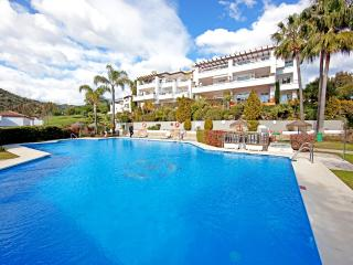 Comfortable three bedroom ground floor apartment on Los Arqueros golf resort, Marbella - Benahavis vacation rentals