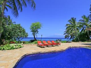 Kahana Seaside Villa Luxury Maui Villa, sleeps 11 - Ka'anapali vacation rentals