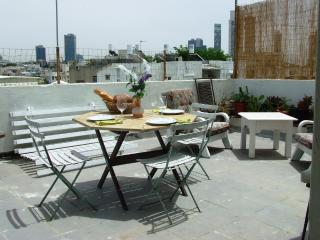 LOCATION! ROOF TERRACE/BEACH/CENTRAL/QUIET - Tel Aviv vacation rentals