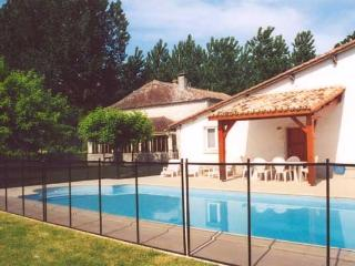 Spacious stone farmhouse with pool, private 9 acre - Duras vacation rentals