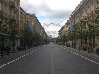 One bedroom apartments Gedimino street - Vilnius vacation rentals