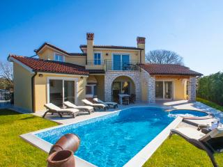 Villa S. Domenica - brand new modern villa with private pool and beautiful sea view - Kastelir vacation rentals